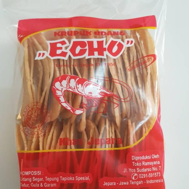 Kerupuk Udang Echo via Shopee