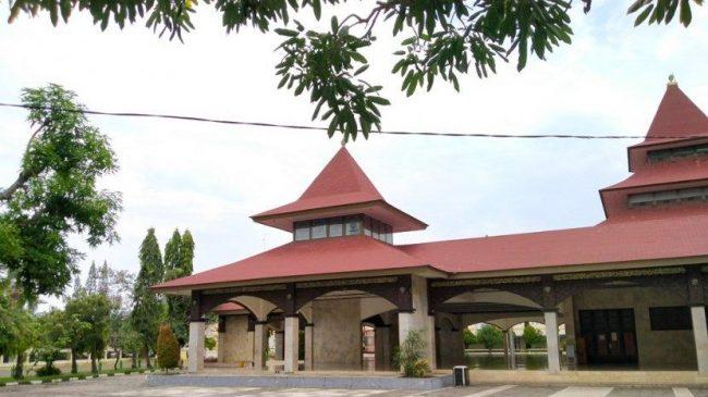Masjid Agung Indramayu via Tribunnews
