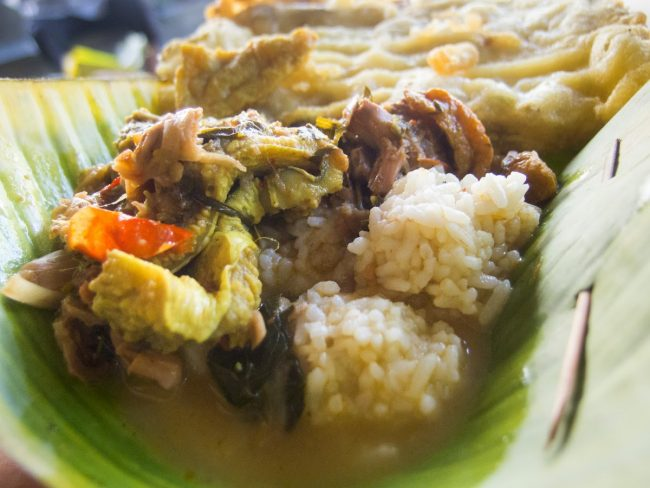 Nasi Penggel Kebumen via Iqbalkautsar