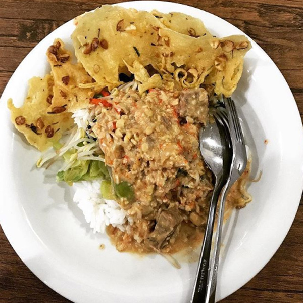 Nasi Tumpang Boyolali via Merahputih
