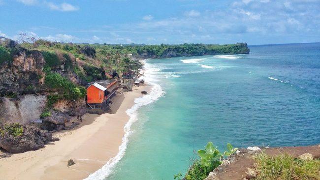 Pantai Balangan via Trivindo