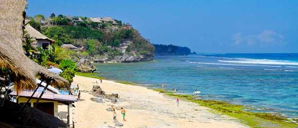 Pantai Bingin via bali water sport