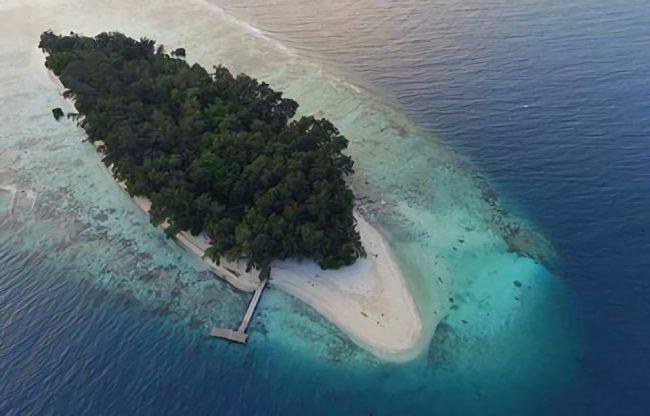 Pantai Pulau Perak via IG @exploreisland - Tempat Wisata Di Pulau Seribu
