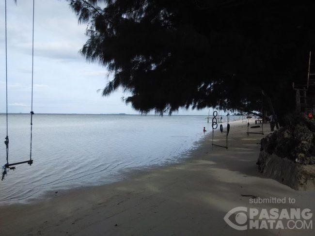Pantai Saung Cemara Kasih via Detik