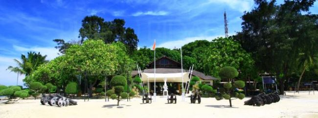 Pulau Bidadari via pulauseribu-resortscom