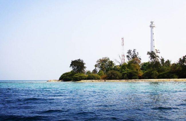 Pulau Edam via IG @elsafatour28 - Tempat Wisata di Pulau Seribu