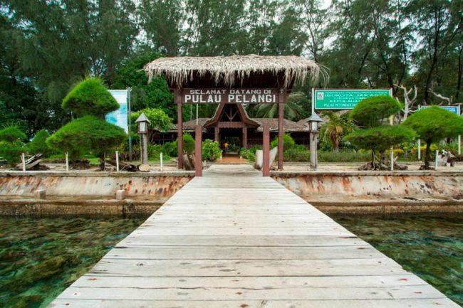 Pulau Pelangi via Langgeng Wisata