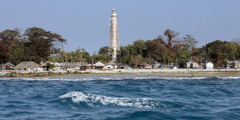 Pulau Sabira travel.kompascom