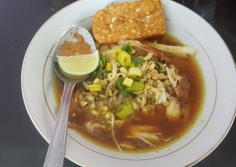 Soto Ayam Petanahan via Cookpad