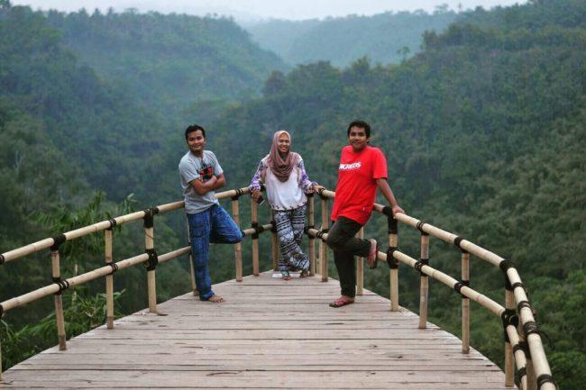 Wisata Anjungan Tukad Melangit via Kintamani