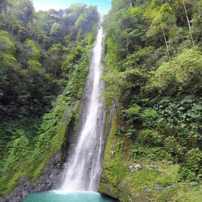 Wisata Air Terjun Panca Saneo via IG @irfan__ferdi