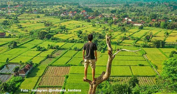 Wisata Bukit Belong Gunaksa via IG @mdbakta_kardana
