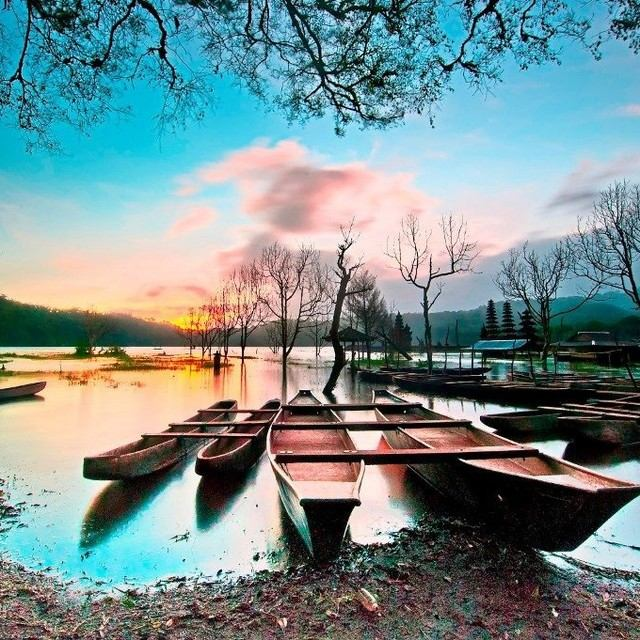 Wisata Danau Tamblingan via IG @northofbali