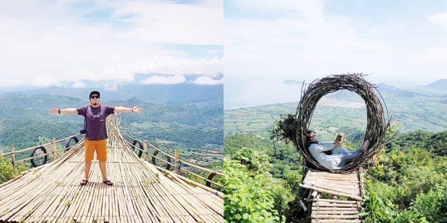 Wisata Desa Mantar via IG @dery_caropeboka (kiri) dan @lapita.rini (kanan)