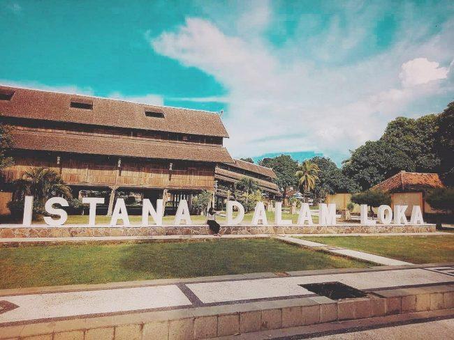 Wisata Istana Tua Dalam Loka via IG @hijratun_wahyuni