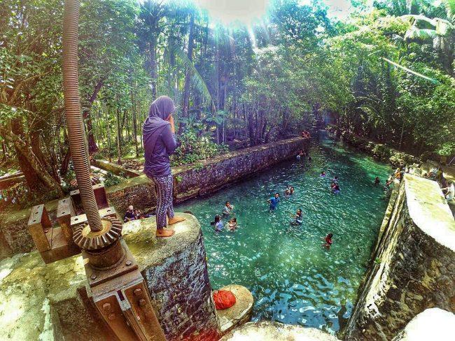 Wisata Mata Air Oemau via IG @andiniulfah