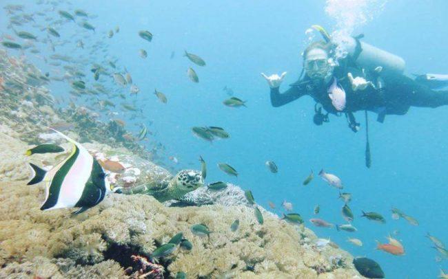 Wisata Pantai Crystal Bay via IG @margo_styczen