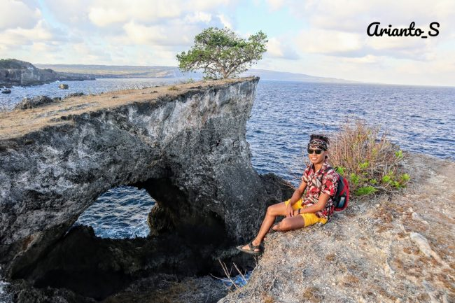Wisata Pantai Dombo via IG @arianto_S - tempat wisata di Rote Ndao