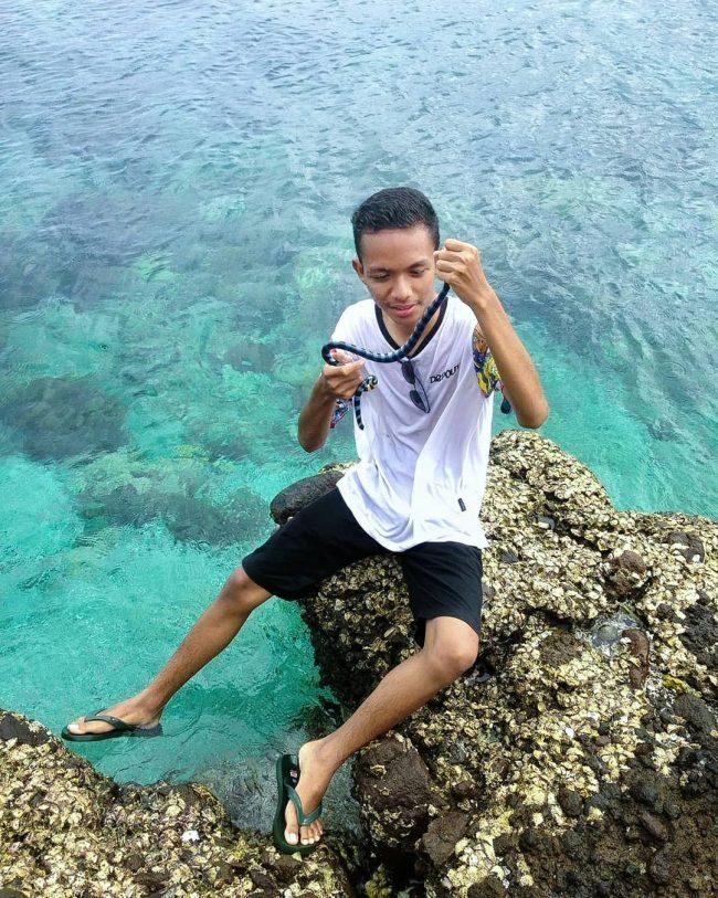 Wisata Pulau Ular via IG @arahman_az