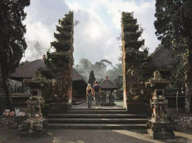 Wisata Pura Luhur Batukaru via IG @thekryamahabali