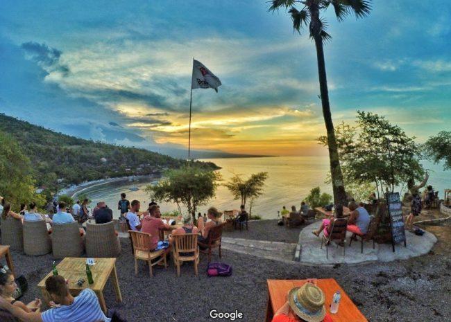 Wisata Warung Sunset Point