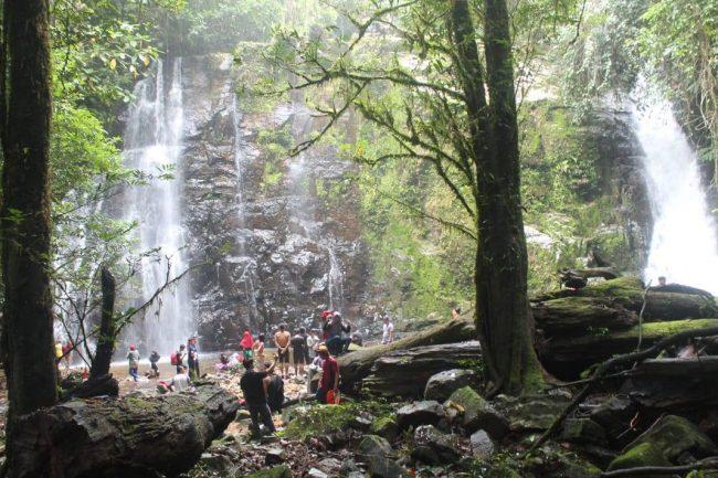 Air Terjun Biyu via Pejalankapuashulu - Tempat Wisata Di Kapuas Hulu