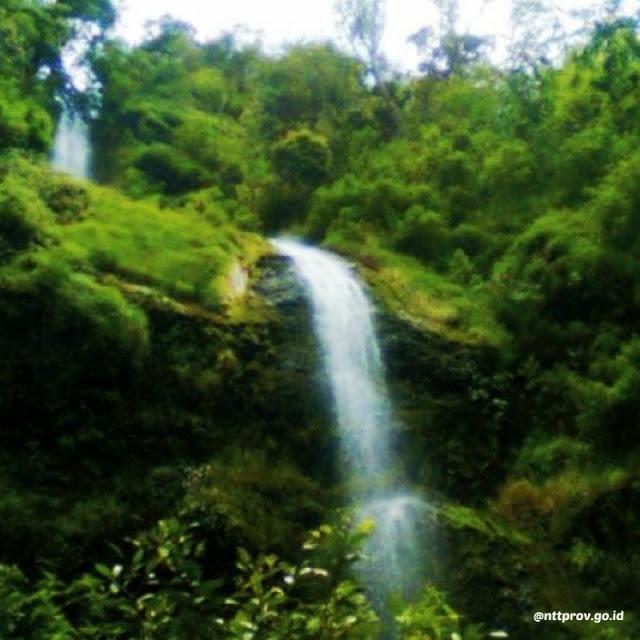 Air Terjun Cuncang Ntangis via IG @nttprov.go.id - tempat wisata di Manggarai Timur