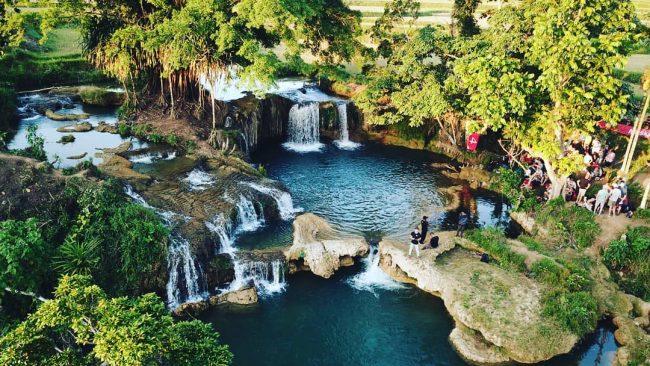 Air Terjun Deku Watu via IG @abraham_ronny_s - tempat Wisata di Sumba Barat Daya