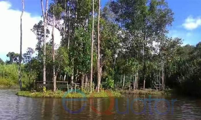 Danau Blairam via Equator