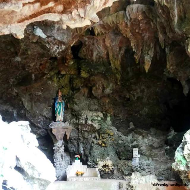Gua Maria Cingcoleng - tempat wisata di Manggarai Timur