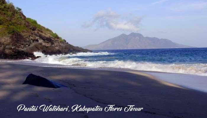 Pantai Watohari - Tempat Wisata Di Flores Timur