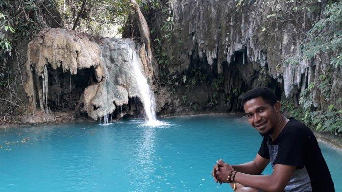 Wisata Air Terjun Kolam Jodoh Sumba Timur via Tribunnews