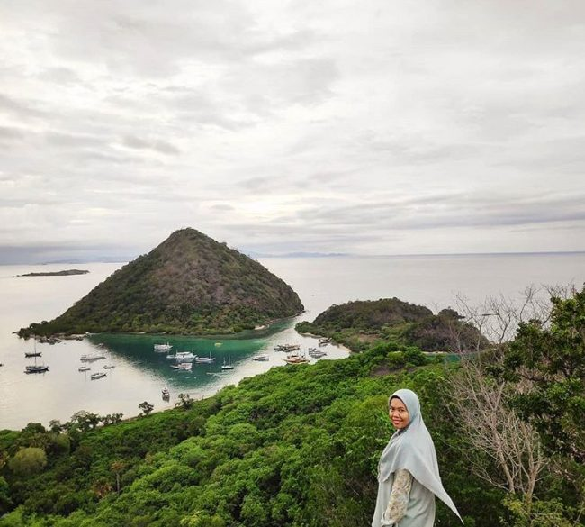Wisata Bukit Silvia via IG @fadlun_arifin