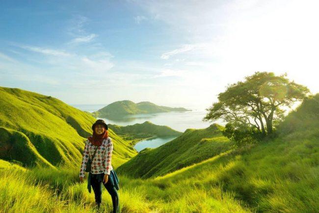 Wisata Gili Lawa via IG @fifiolutfia - Tempat Wisata di Manggarai Barat