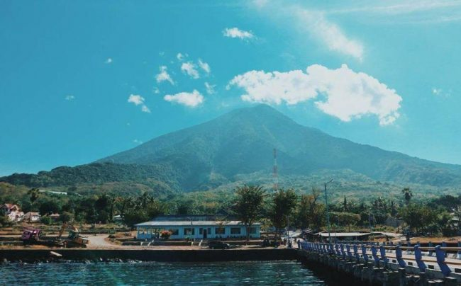 Wisata Gunung Ile Mandiri via IG @fauziyahn