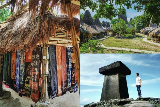 Wisata Kampung Adat Rende via IG @visitsumba - Tempat Wisata di Sumba Timur