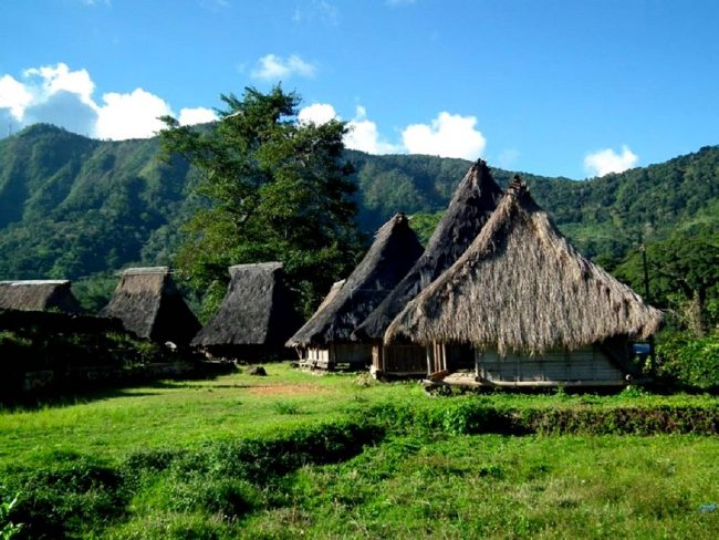 Wisata Kampung Adat Wologai via Mongabay