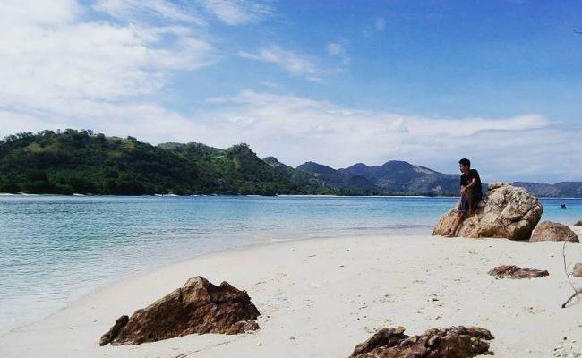 Wisata Pantai Bean via IG @akham.syafh