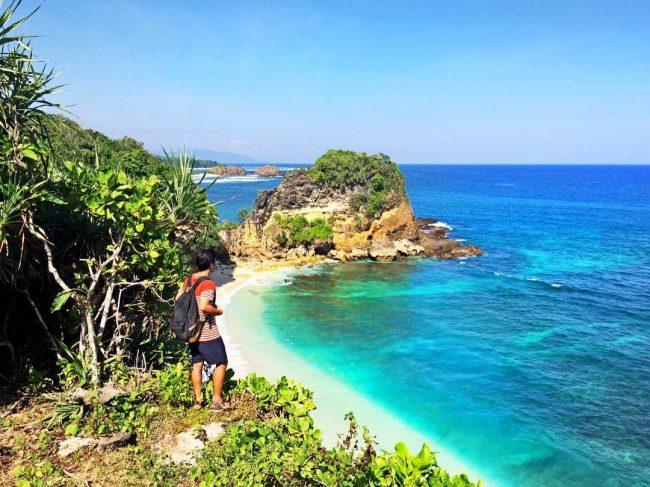 Wisata Pantai Lailiang via IG @alvonsoalberto - Tempat Wisata di Sumba Barat