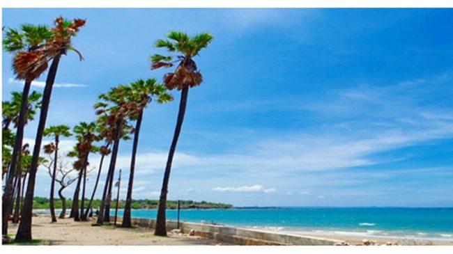 Wisata Pantai Lasiana via Tribunnews