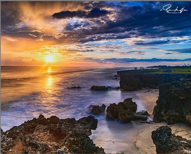 Wisata Pantai Pero via IG @rhevie90