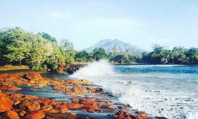 Wisata Pantai Tiga Warna Pantaru via IG @erlangga_saputra
