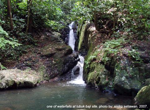 Air Terjun Lubuk Baji Foto Endro-Setiawan - Tempat Wisata Di Kayong Utara