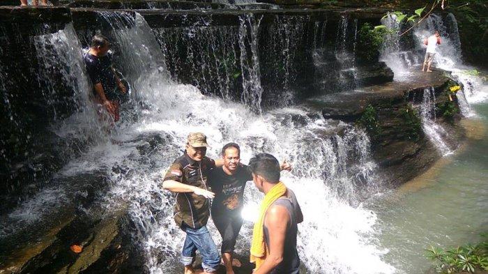 Air Terjun Nokan Cicak via Tribunnews