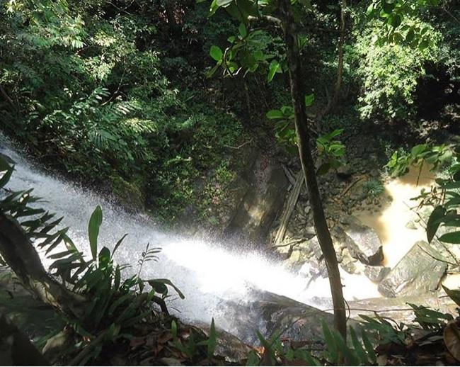 Air Terjun Semirah Merambang via IG @mirnawatiyulia92