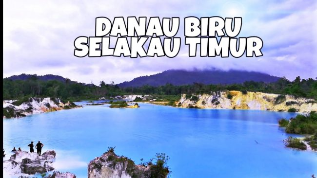 Danau Biru Selakau Timur via Youtube