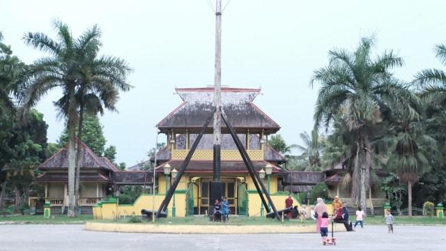 Istana Alwatzikhoebilah Foto Hi Pontianak