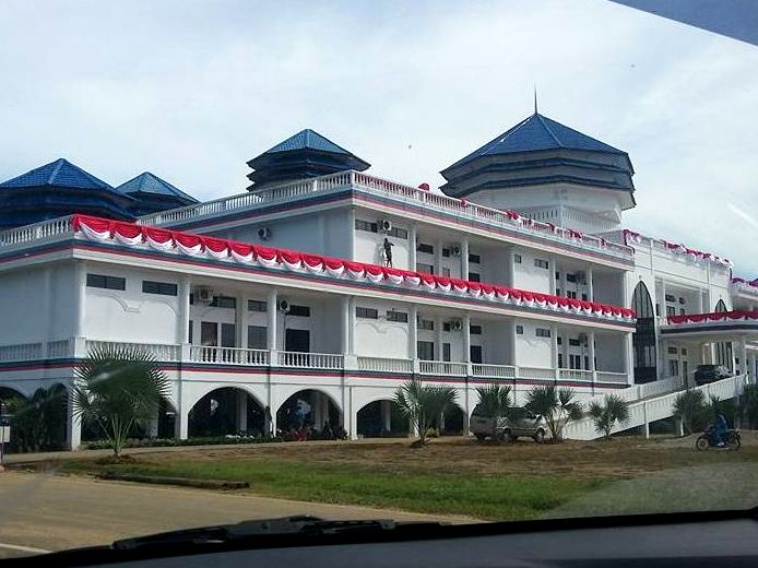 Istana Kesultanan Kotapinang via Rafi