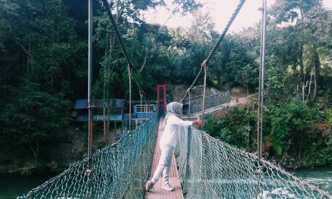 Jembatan Gantung Bedeng via Portal Wisata