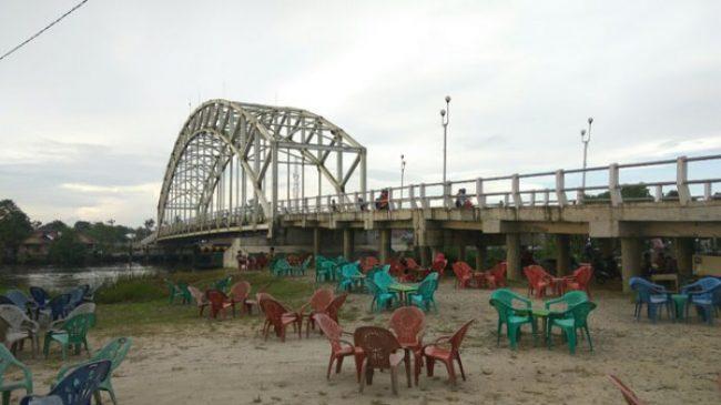 Jembatan Sambas via Tribun Pontianak